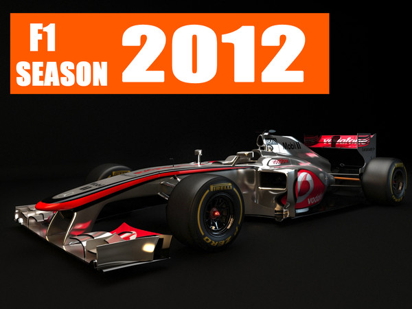 mclaren 27 2012 3d c4d - F1 McLaren MP4 27 2012... by dessga